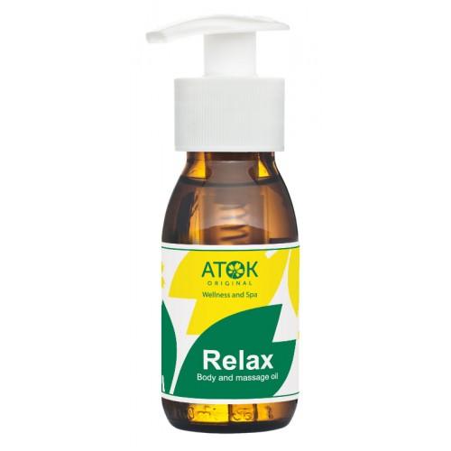 массажное масло relax original atok оригинал аток